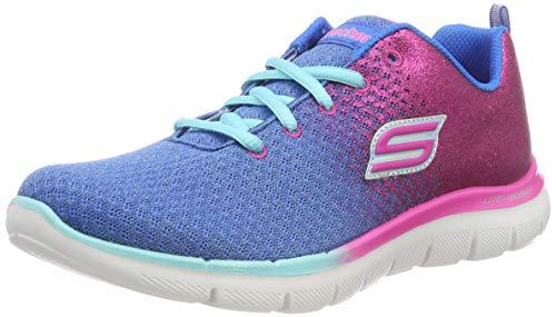 Skech 2 Pink Deportivas Blnp 0 Interior Zapatillas Appeal blue Em get Azul Niñas Glitt Para Skechers neon HBwdqRd
