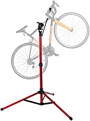 unisky Bike Repair Stand Pro Home Mechanics Bicycle Repair Workstand Shop Height Degree Adjustable Cycle Maint