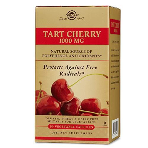 Solgar -Tart Cherry 1000 Mg, 90 Vegetable Capsules