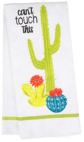 Kitchen Towel Southwest Cactus Design Can't Touch This Design on Both - Side Towel West