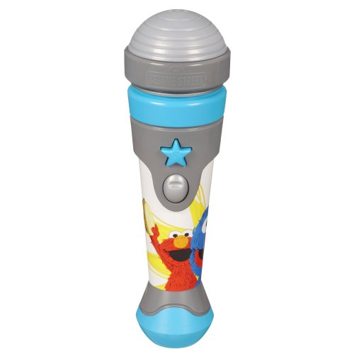 - Playskool Sesame Street Let's Rock! Grover Microphone