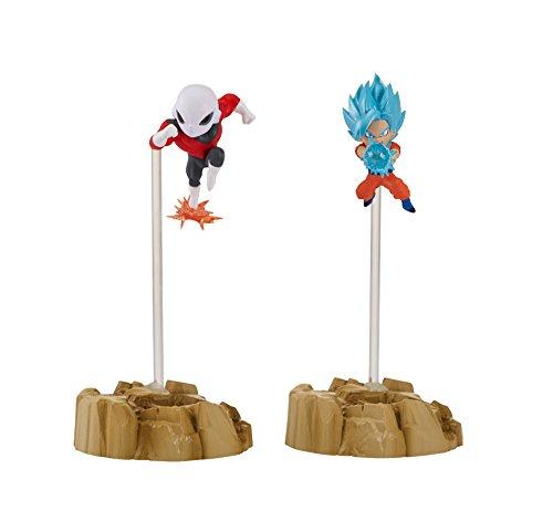 Dragon Ball Super - Dragon Stars Nano Super Saiyan Blue Goku vs. Jiren Figure 2-Pack