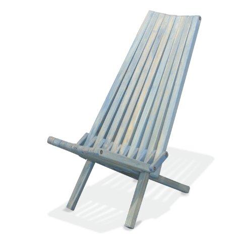 GloDea X45 No Knots Selection Lounge Chair, Sky Blue