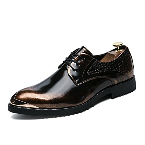 Herren Casual Lederschuhe Business Casual Schuh 37-42 Brown