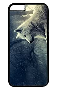 Lone Wolf Nice PC Black Case for Masterpiece Limited Design iphone 6 plus by Cases & Mousepads