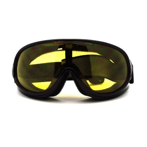 New Retro Cafe Racer Style Narrow Shatter Proof Anti Fog Lens Goggle - Racer Cafe Sunglasses