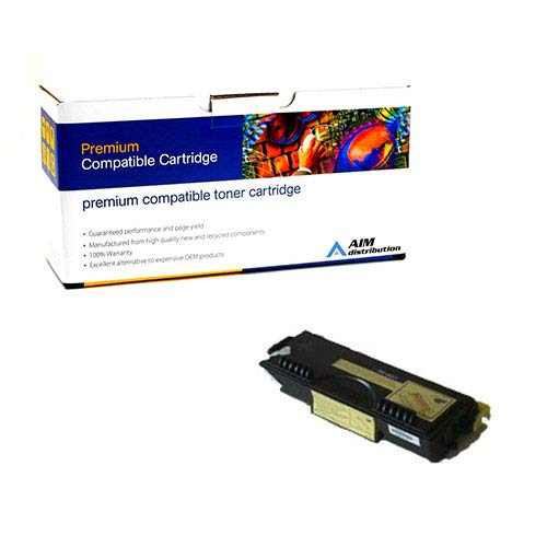 AIM Compatible Replacement for Elite Image 75051 Toner Cartridge (6000 Page Yield) - Compatible to Brother TN-460 - Generic