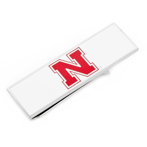 NCAA Mens Plated University of Nebraska Cornhuskers Money Clip