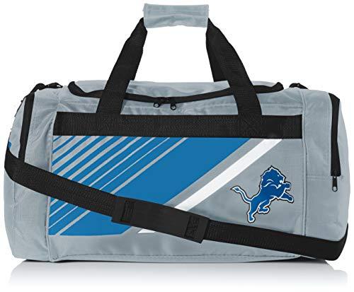 Detroit Lions Border Stripe Duffle Bag
