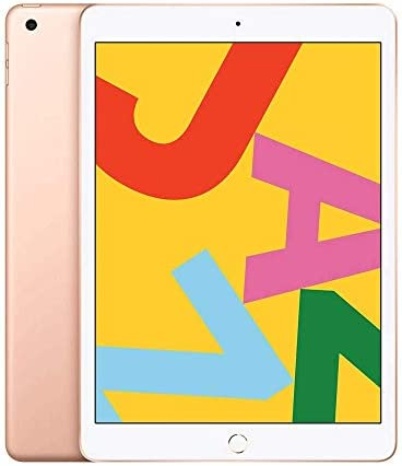Apple iPad 10.2″ (2019 – 7th Gen), Wi-Fi + Cellular, 32GB, Gold [Without Facetime]