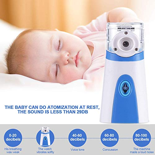 Mini Humidifier for Kids & Adults Travel and Home Daily Use