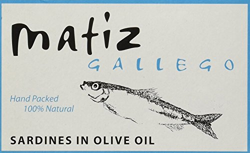 Olive Oil Case (Matiz Gallego Sardines in Olive Oil, Case of 25)
