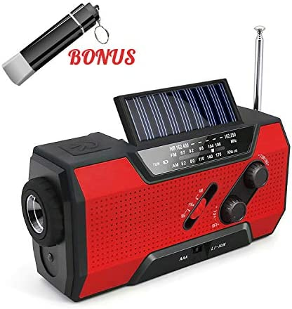 Emergency Rechargeable Flashlight Tornadoes Hurricanes product image
