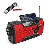 Best Emergency Crank Radios - Emergency Rechargeable Solar Crank AM/FM/NOAA/Weather Radio with Flashlight,2000 Review