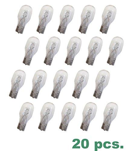 20 TORO 12 Watt Clear T-5 Wedge Replacement Bulbs #52155