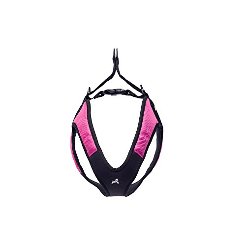 Gooby Escape Free Easy Fit Dog Harness for Dogs that Likes to Escape Their Harness, Hot Pink, Small - Free Harness