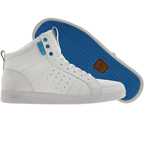 Clae Russell (white / white patent / blue)