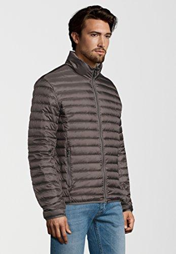 Plain Down Colmar Sleeve Charcoal Jacket Long Men's gHP5xwqE
