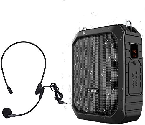 Waterproof Amplifier Rechargeable Bluetooth Loudspeaker