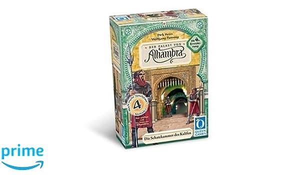 Queen Games 6033 Der Palast von Alhambra - Juego de mesa ...