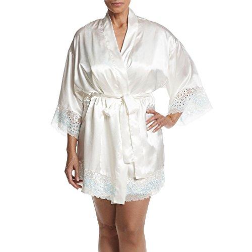Flora Nikrooz Adore Lace Kimono Robe ()