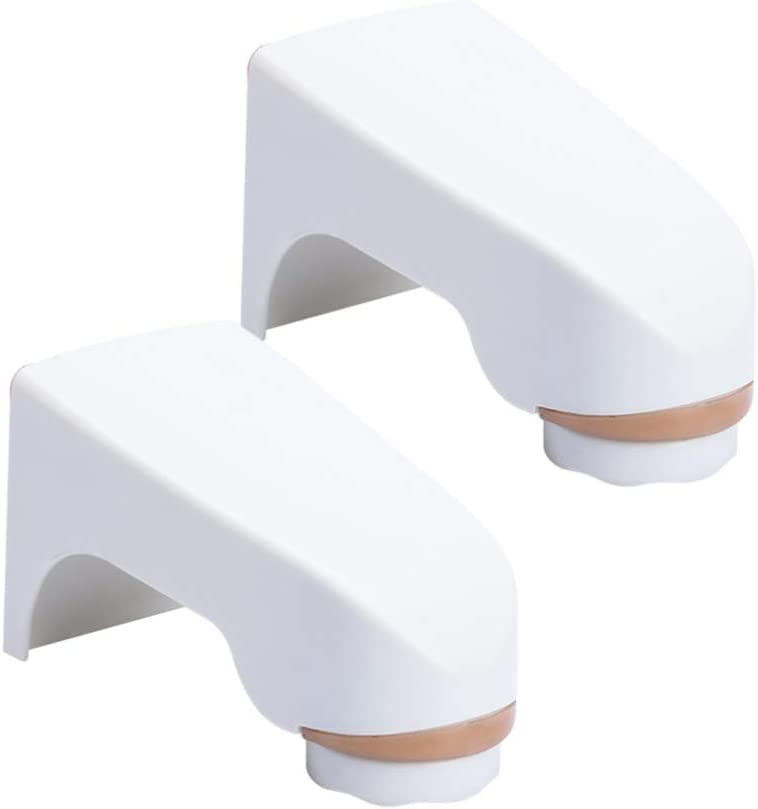 Milisten 2Pcs Magnetic Soap Holder Wall Mounted Soap Box Hanging Soap Dish Soap Holder Container for Bathroom Shower Kitchen White