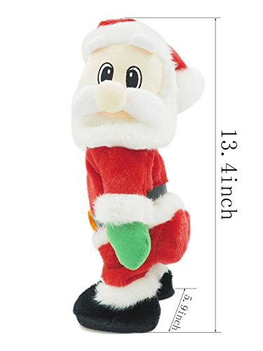 Electric Santa Claus-Singing and Twerking,Best Christmas Gift for Kids or House Decoration. Photo #5