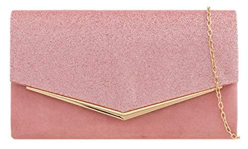 Blush Flap Girly HandBags Clutch HandBags Glitter Bag Girly 7w0qBw8
