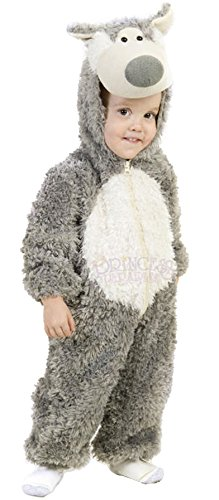 [Big Bad Wolf Costume] (Wolf Costumes Toddler)