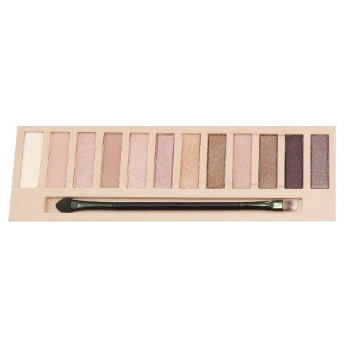 縫い目単独で教育LA GIRL Beauty Brick Eyeshadow Collection - Nudes (並行輸入品)