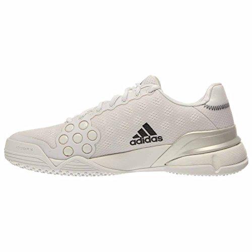 black 12 Barricade Taille Tennis Chaussures 2015 White Herbe Adidas UAO8n16
