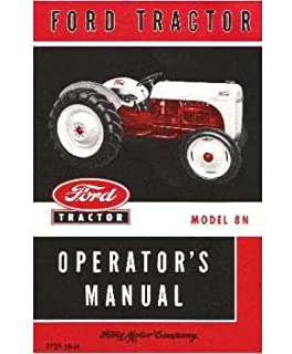 Well-Educated Ford Tractors Workshop Manual 10 Series Tractor Manuals & Publications