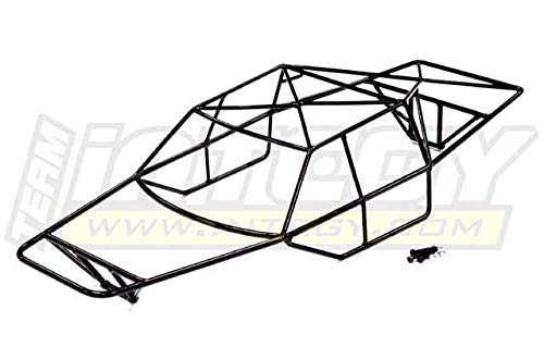 Integy RC Model Hop-ups T8527 Steel Roll Cage Body for Traxxas 1/10 Slash 4X4 Non-LCG (6808)