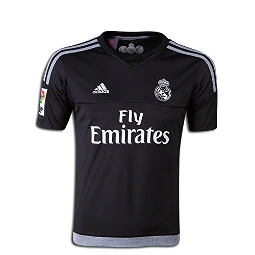 d8b51894c92 Amazon.com  adidas Soccer Replica Jersey  adidas Real Madrid Youth Home  Goalkeeper Replica Soccer Jersey 15 16 YS  Clothing