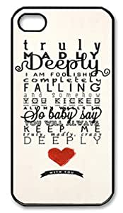One Direction Truly Madly Deeply Iphone 5 Slim-fit Case, Best Iphone Case at Luckyshopping Store