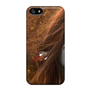 New Arrival Case Cover With ZiqTAiW6718PWtez Design For Iphone 5/5s- Tears Of Autumn
