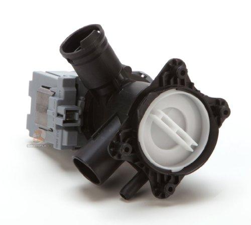 DREHFLEX® - Laugenpumpe / Pumpe für diverse Waschmaschinen von Bosch / Siemens / Constructa - passend für Teile-Nr. 145777 / 00145777 ersetzt 144971 / 00144971 144511, 00144511, 145338, 00145338