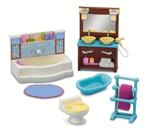 Fisher Price Loving Family Bathroom (Loving Family Dollhouse Doll)