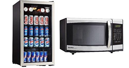 Amazon.com: Bundle: Danby dbc120bls Beverage Center – Acero ...