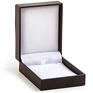 Darice Necklace Box, 4 by 3 by 1.25-Inch, 1-Pack