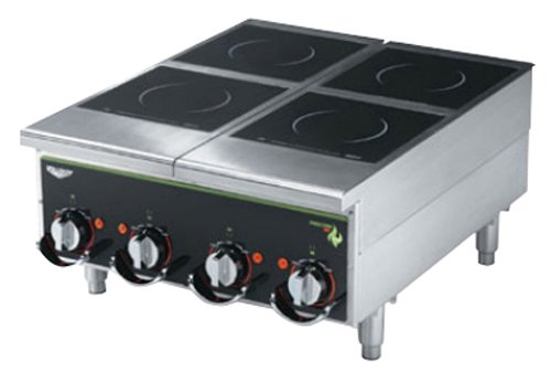 Amazon.com: vollrath (924himc) 4-hob Heavy-Duty Inducción ...