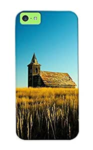 46e69b91739 Landscapes Nature Church Cathedral Religion Decay Ruin Grass Wheat Fashion Tpu Case Cover For Iphone 5c, Series