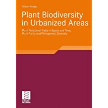 Plant Biodiversity in Urbanized Areas: Plant Functional Traits in Space and Time, Plant Rarity and Phylogenetic Diversity
