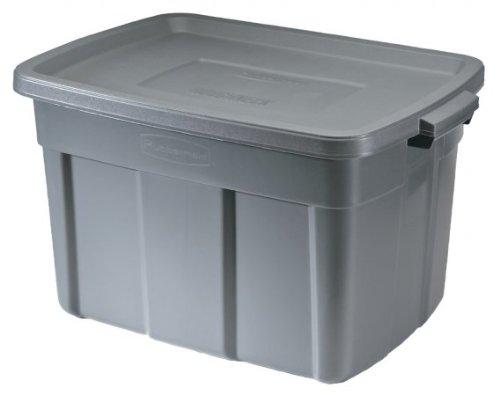 Rubbermaid 25 Gallon Roughneck Storage Tote FG2245CPDIM