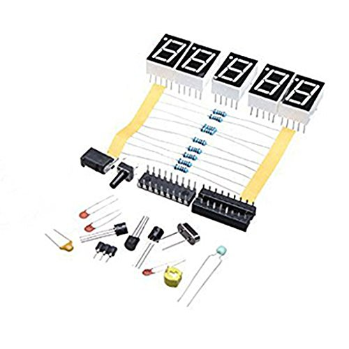 Jili Online DIY Digital LED 1Hz-50MHz Crystal Oscillator Frequency Counter Meter Tester Kit Tool - Frequency Counter Kits