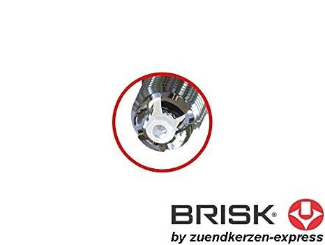 BRISK Premium Racing BOR12LGS 3092 Bujías de Encendido, 1 piezas: Amazon.es: Coche y moto