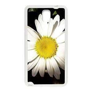 Big White Flowers White Phone Case for Samsung Galaxy Note3 wangjiang maoyi
