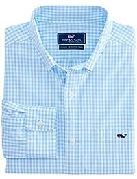 Men's Arawak Gingham Classic Fit Tucker Shirt