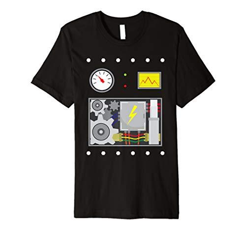 Robot Costume Halloween Premium T-Shirt For Robot -