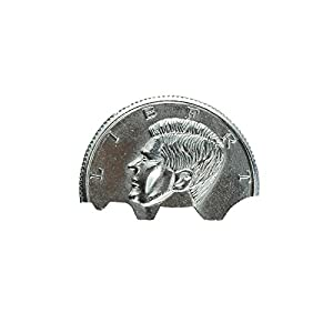 ISusser 2PCS Snap and Restoration Coin, Silver, Dollar Coin